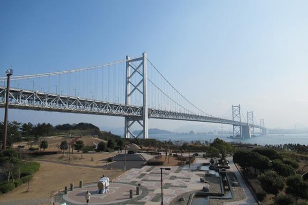 岡山、瀬戸大橋